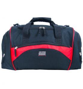 c79be672f8 Cestovní taška JAZZI 4268 - černá červená